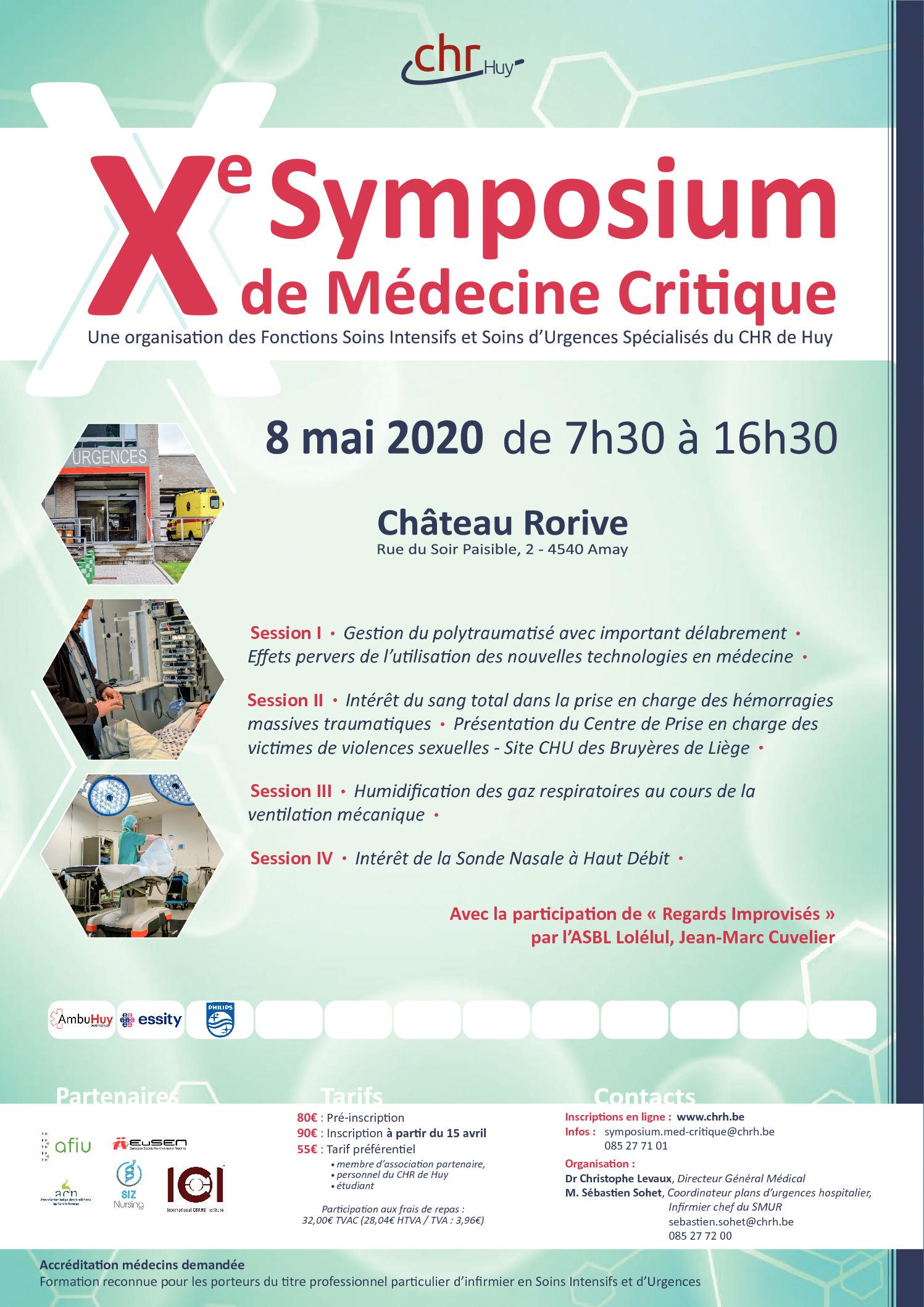 Symposium du CHR de Huy